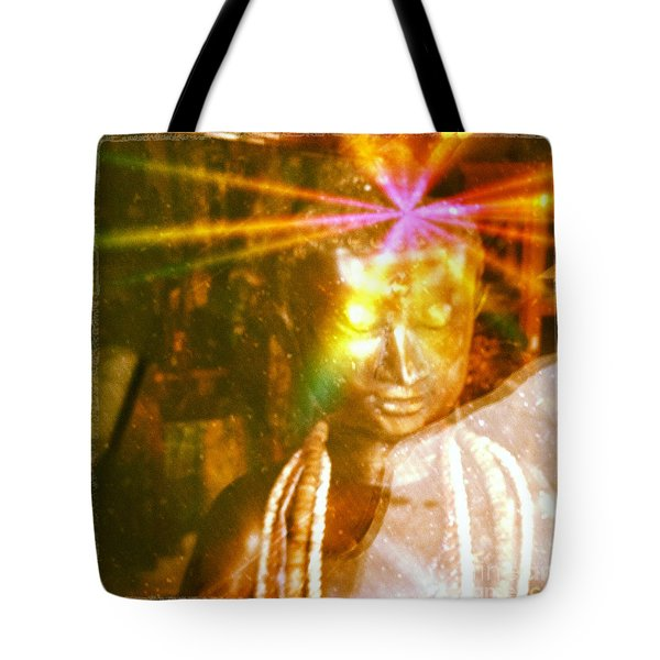 Buddha Light Tote Bag by Roselynne Broussard
