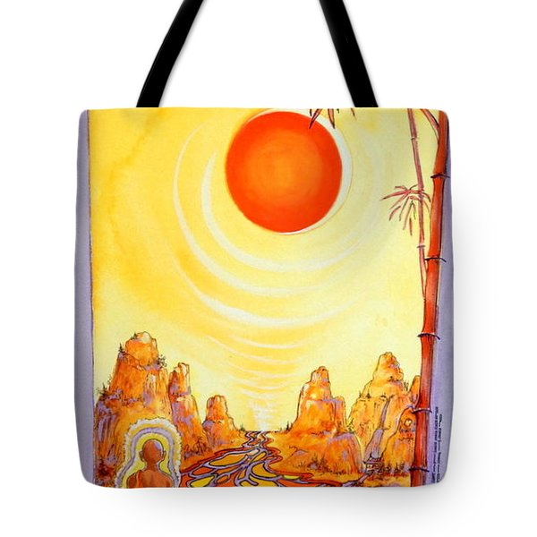 Buddha Meditation Tote Bag