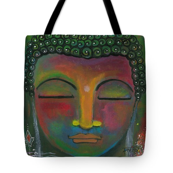 Buddha Painting Tote Bag