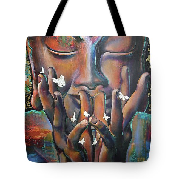 Buddhaflies Tote Bag