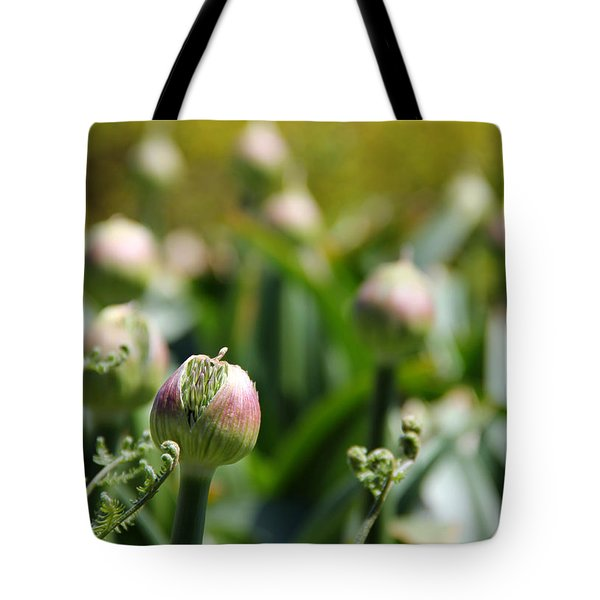 Budding Tote Bag