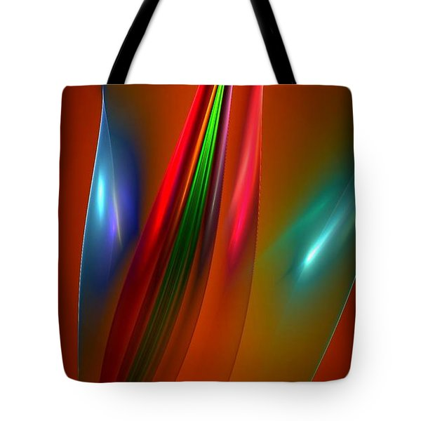 Budding Out Tote Bag