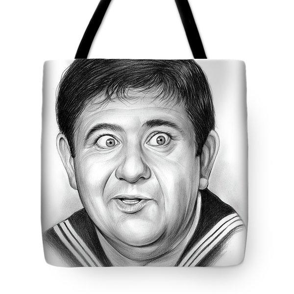 Buddy Hackett Tote Bag