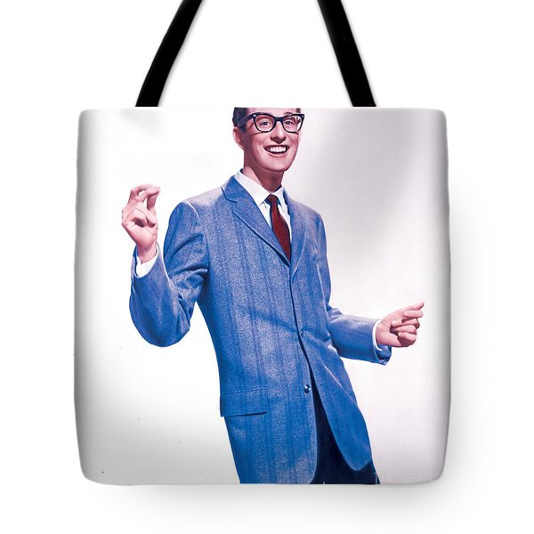 Buddy Holly Promotional Photo. Tote Bag