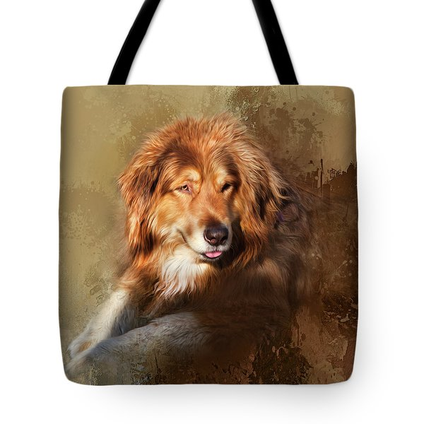 Tote Bag featuring the photograph Buddy by Theresa Tahara