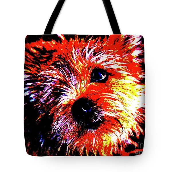 Tote Bag featuring the photograph Buddy by Xn Tyler