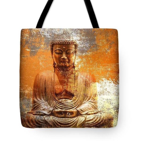 Budha Textures Tote Bag