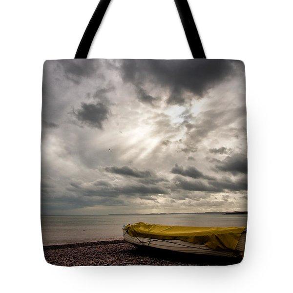 Budleigh Salterton Beach Tote Bag
