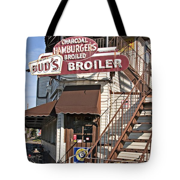 Bud's Broiler New Orleans Tote Bag