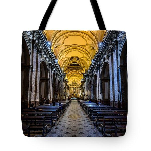 Buenos Aires Metropolitan Cathedral Tote Bag