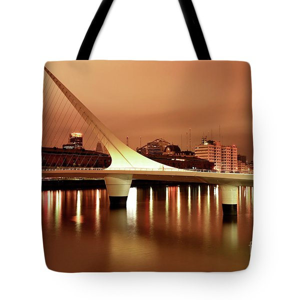Tote Bag featuring the photograph Buenos Aires On Fire by Bernardo Galmarini