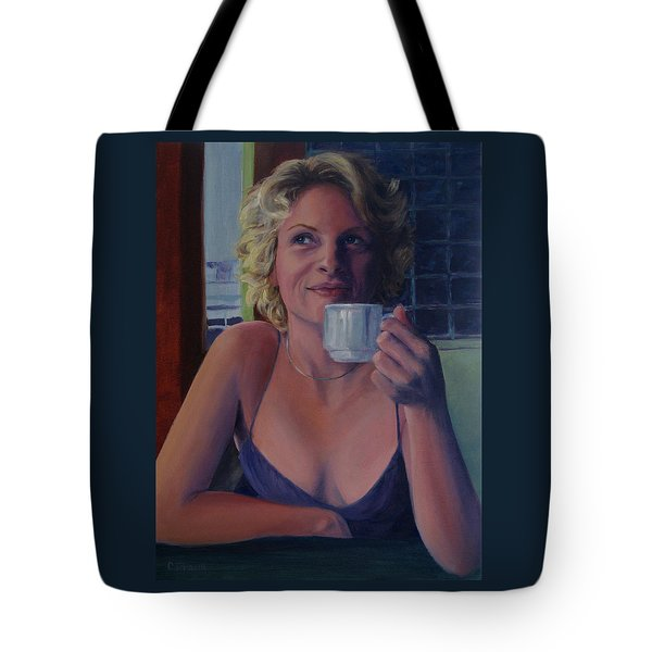 Buenos Aires Three To Sacrifice Tote Bag by Connie Schaertl