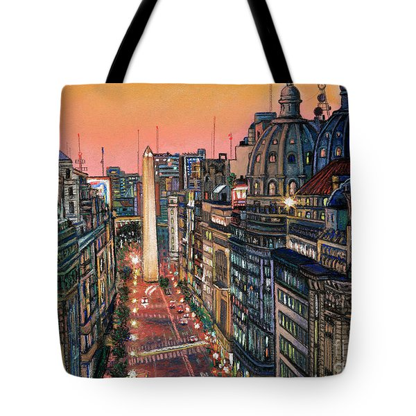 Buenos Aires Twilight Tote Bag