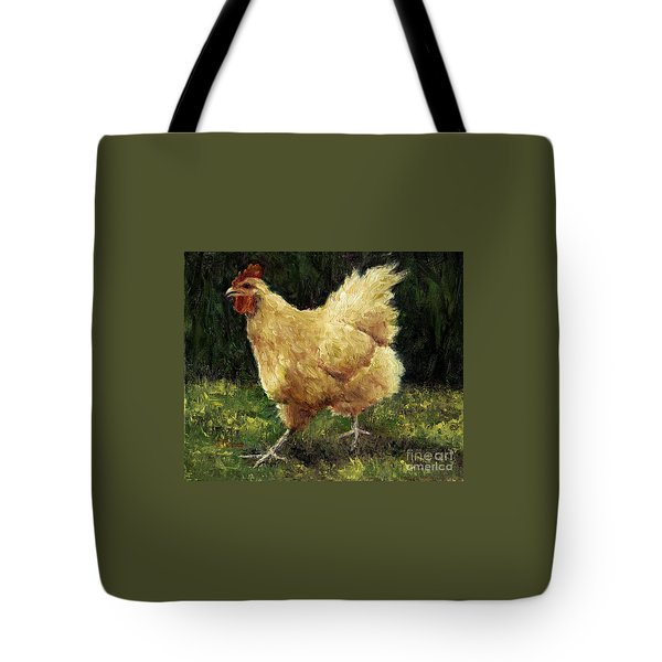 Buff Orpington Chicken Tote Bag