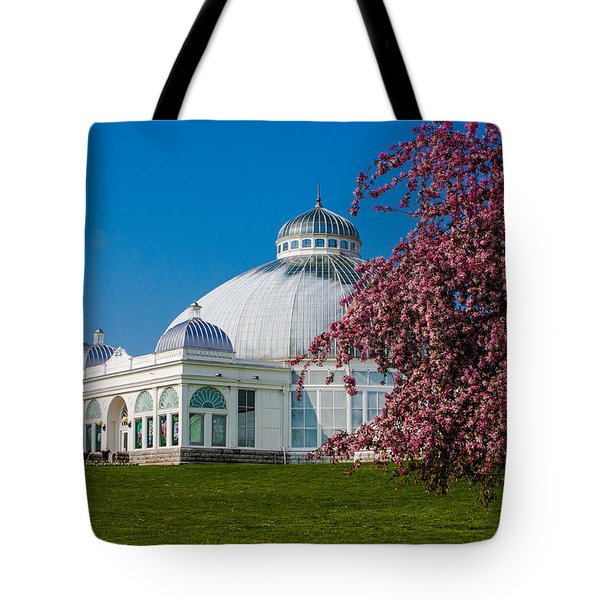 Buffalo Botanical Gardens North Lawns Tote Bag