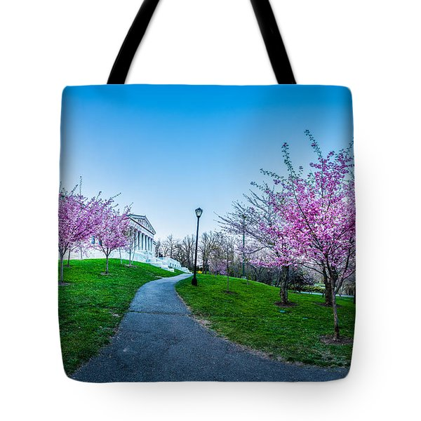 Buffalo Cherry Blossoms 1 Tote Bag