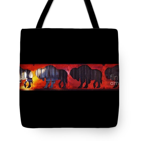Tote Bag featuring the photograph Fire On The Plains by Larry Campbell