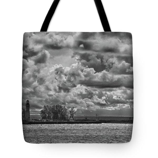 Buffalo Lighthouse 8111 Tote Bag