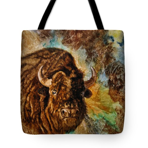 Buffalo Tote Bag