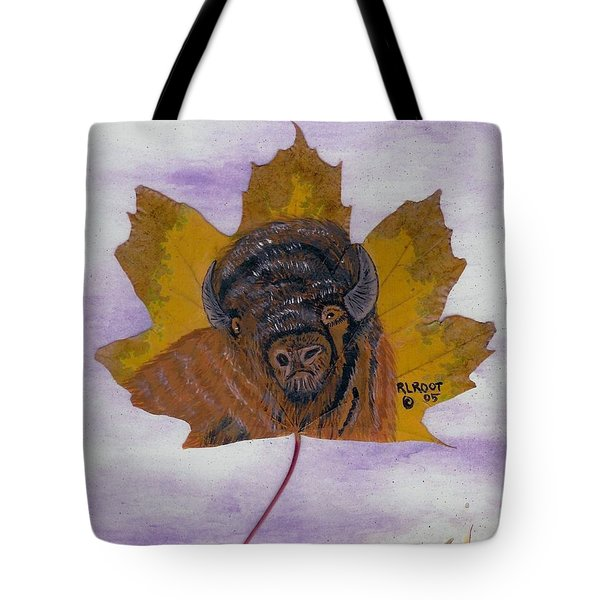 Buffalo Profile Tote Bag