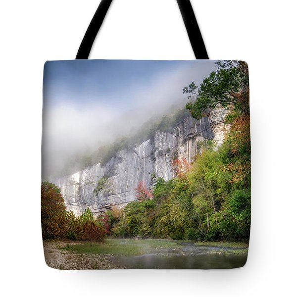 Buffalo River Autumn Tote Bag
