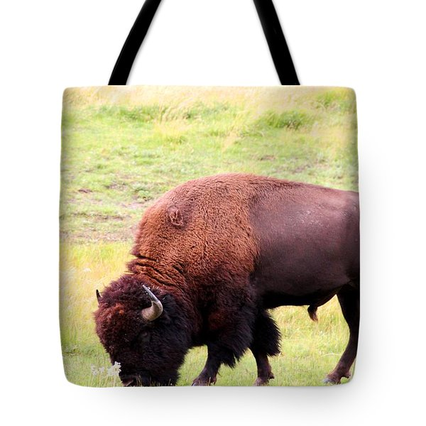 Buffalo Roaming Tote Bag