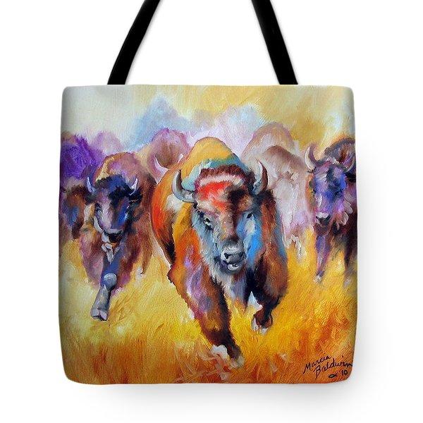 Buffalo Run 16 Tote Bag