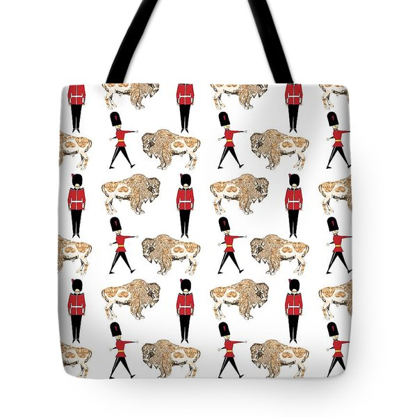 Buffalo Soldier Tote Bag by Beth Travers