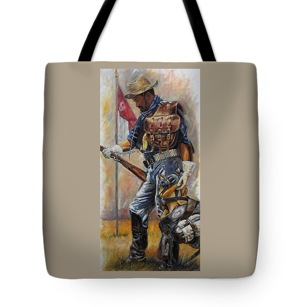 Buffalo Soldier Outfitted Tote Bag
