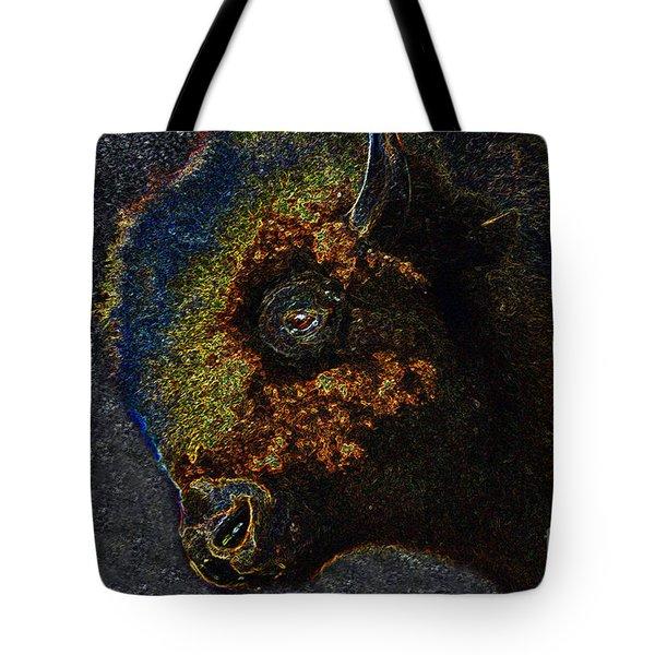 Buffalo Vision Tote Bag by David Lee Thompson