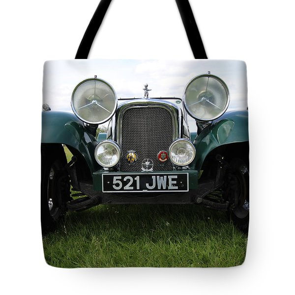 Bug Eye Jaguar Tote Bag