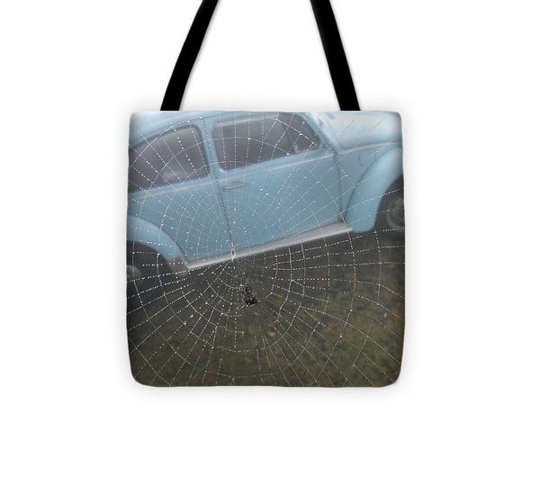 Bug In A Web Tote Bag by Diannah Lynch