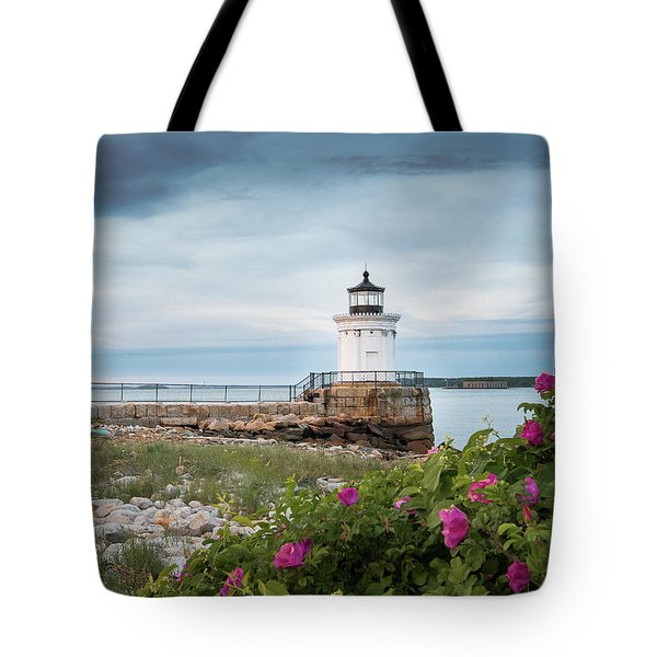 Bug Light Blooms Tote Bag