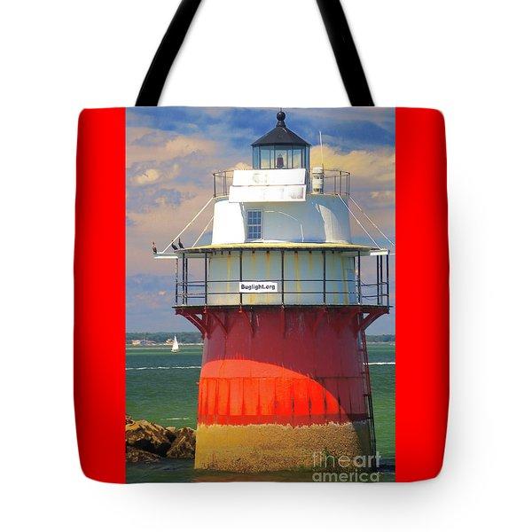 Bug Light Plymouth Tote Bag