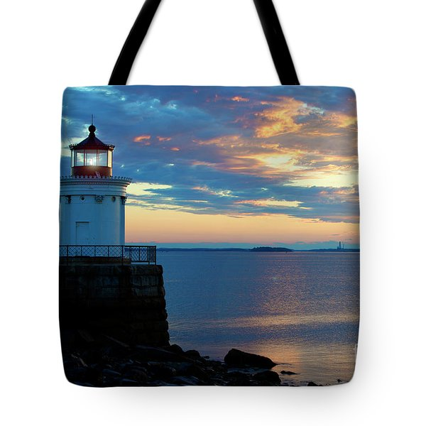 Bug Light, Portland Maine Tote Bag
