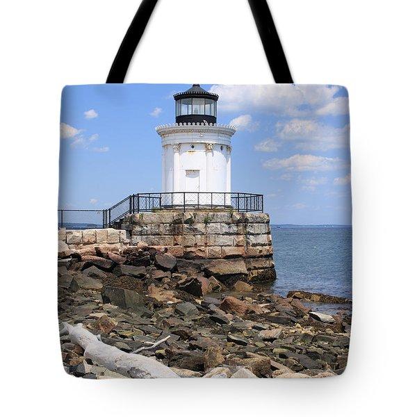 Bug Lighthouse Tote Bag