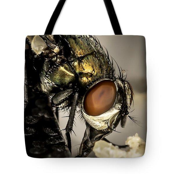 Bug On A Bug Tote Bag