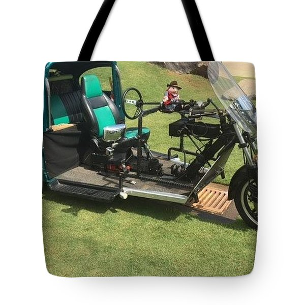 Tote Bag featuring the photograph Bug Trike by Aaron Martens