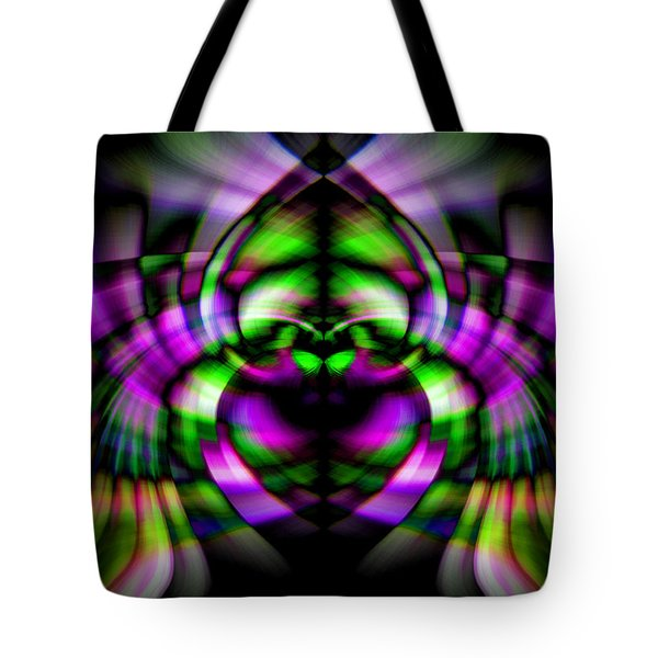 Bug With Wings Tote Bag by Cherie Duran