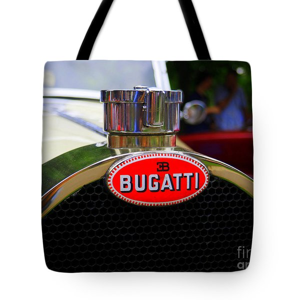 Bugatti Red Tote Bag