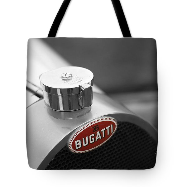 Bugatti Type 43 Tote Bag by Roger Lighterness