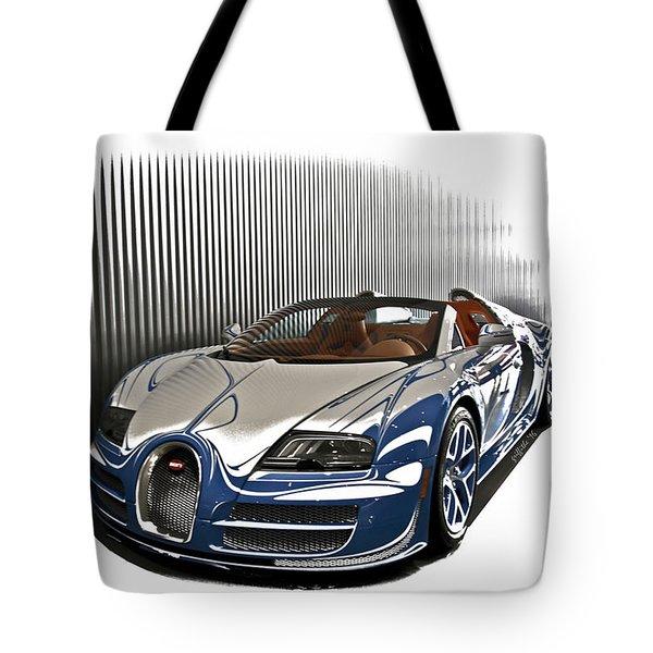 Bugatti V Tote Bag