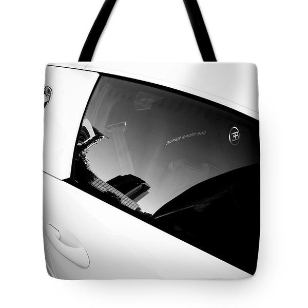 Tote Bag featuring the photograph Bugatti Veyron 16.4 by Michael Hope