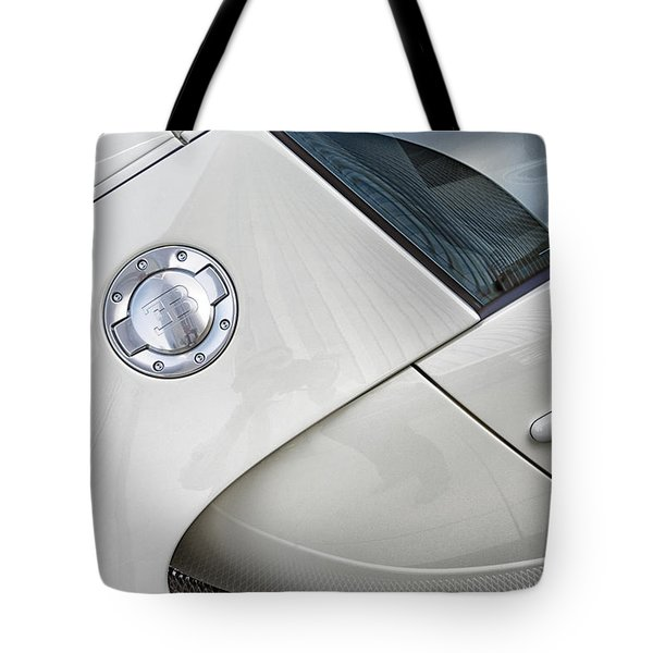 Tote Bag featuring the photograph Bugatti-veyron, 258 Mph,super Sport 300 by Michael Hope