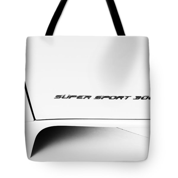 Tote Bag featuring the photograph Bugatti-veyron, Super Sport 300 by Michael Hope