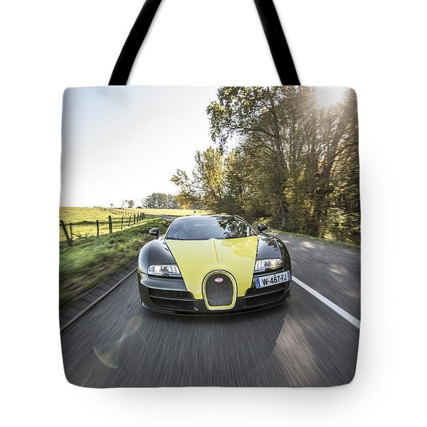 Bugatti Veyron Supersport Tote Bag