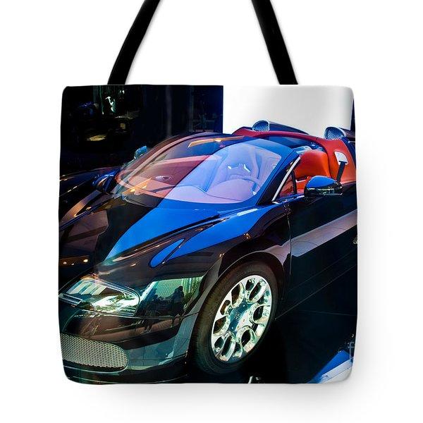 Bugatti Veyron Targa Tote Bag