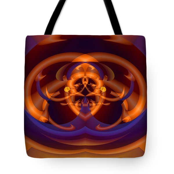Tote Bag featuring the digital art Bugged by Lynda Lehmann