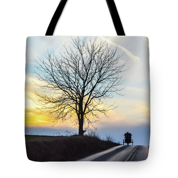 Buggy On The Crest Tote Bag