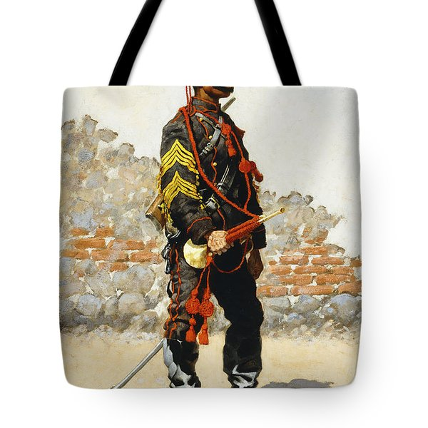 Bugler Of The Cavalry Tote Bag